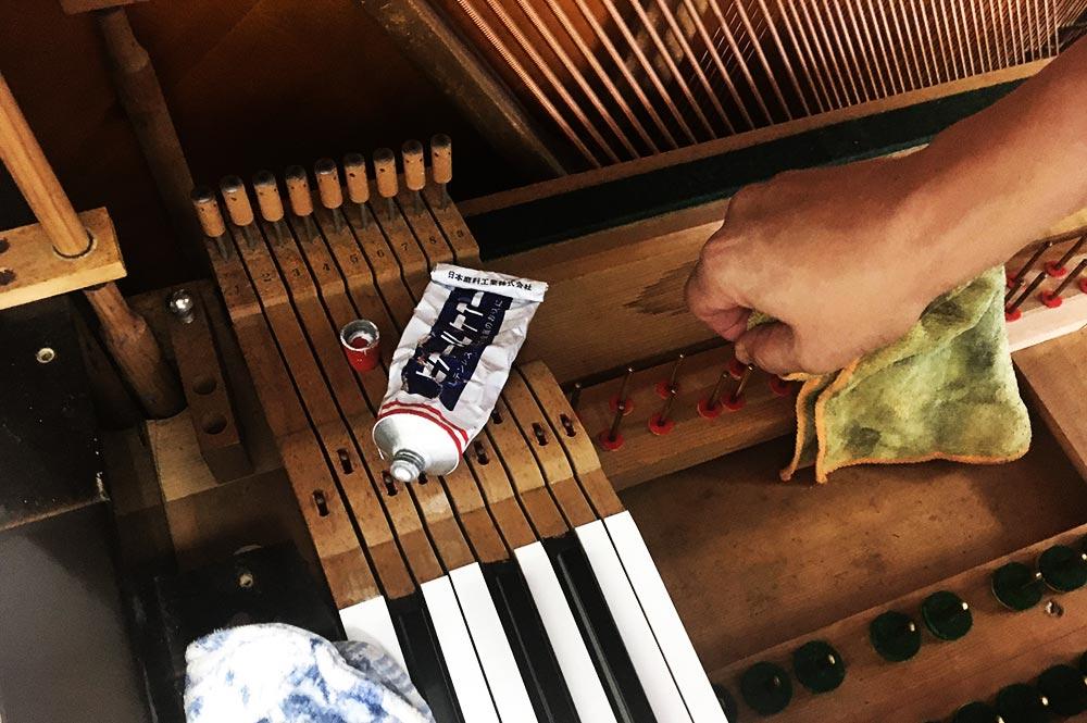 ピアノのクリーニング MORE SOUNDS