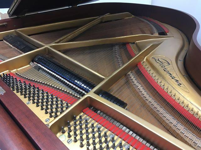 <p>1985年、ブロードウッドもガードナー社に買収。ダネマンブランドのピアノは2017年以降、中国で生産されるようになりました。</p>