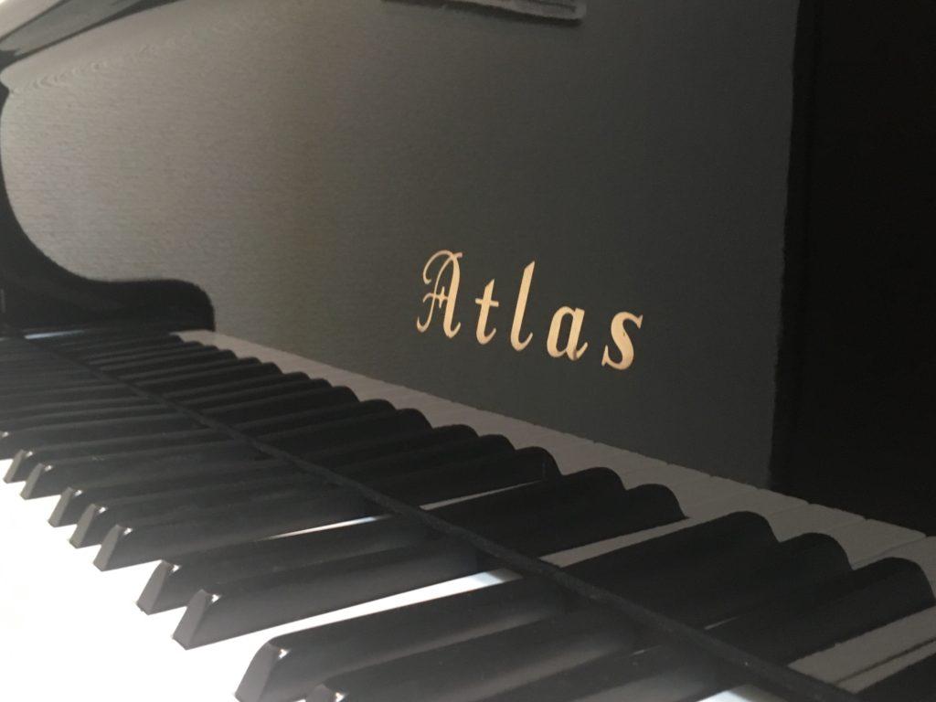 アトラス・グランドピアノ第1号機!