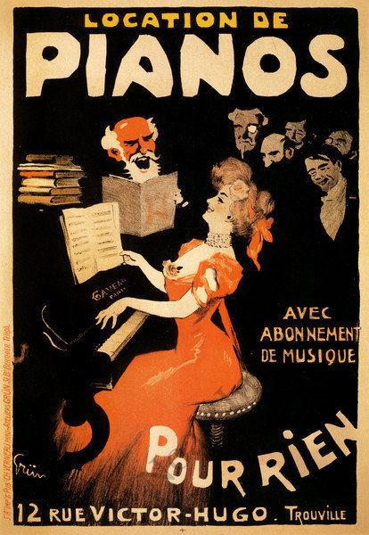 GAVEAU mod.1 de Boudoir 1928年