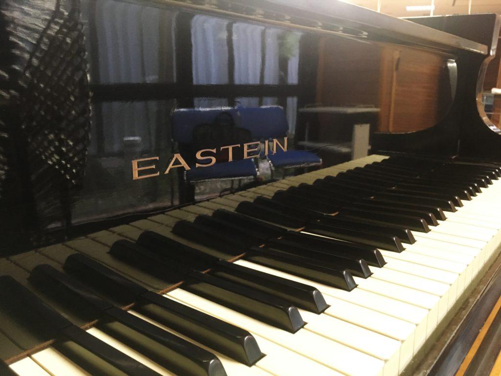 <p>日本のピアノ製造のメッカは浜松市ですが関東の宇都宮で誕生という事でEASTEINと命名されたそうです。</p>