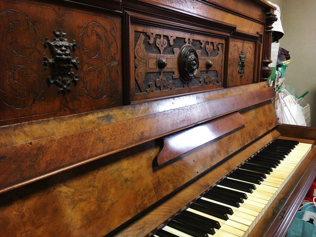 大正時代に海を渡ったピアノ《Georg Hoffmann》
